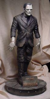 Boris Karloff as Frankenstein Monster 17 Statue Professional Paint
