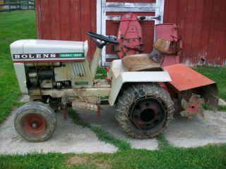 Bolens 1970 Vintage Husky 1253 Riding Lawn Mower Garden Tractor