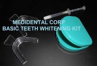 Carbamide Bleaching Professional Dental Kit Retainer Case Trays