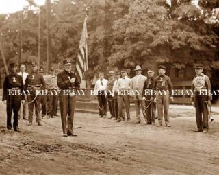 Photo 1890s Boise Idaho ID Fire Department Dept Fireman firemen