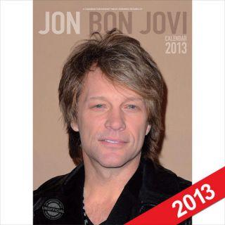 Jon Bon Jovi Calendar 2013