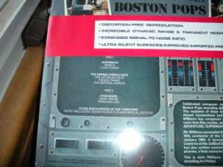 Pops in Space John Williams Boston Pops Orchestra SEALED Phillips 9500