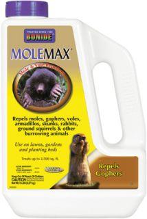 Bonide 691 5lb Mole Max Vole Gopher Repellent Granules