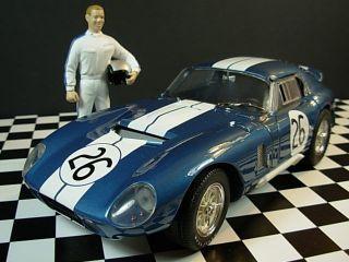 18 1965 COBRA DAYTONA COUPE 26 EXOTO Drivers Bondurant Schlesser