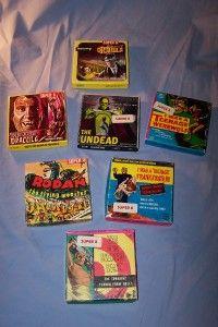 Vintage Monster Horror Super 8mm Ken Films Lot of 7 Vampire Werewolf