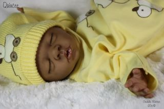 Beautiful Reborn Daisy by Bonnie Brown Ethnic AA Biracial Baby Girl