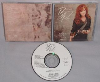 CD Bonnie Raitt Nick of Time Mint Original USA 077779126828