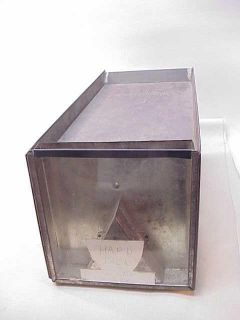 Antique Brachs Candy Tin Counter Display Country Store