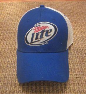 Miller Lite Brad Keselowski 2 Fan NASCAR Hat Cap
