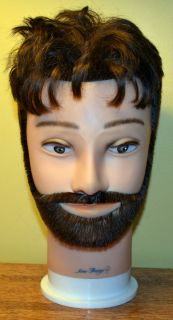 Morris Flamingo Cosmetology Manikin Mannequin Head Male Man Hair