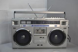 JVC Boombox Ghettoblaster Stereo Radio Cassette Player Recorder RC