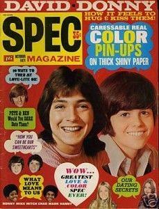 Spec Teen Magazine Oct 1971 Brady Bunch Osmonds