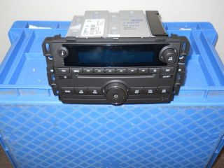 2010 2012 Chevy Traverse cd mp3 radio with usb port vin clear plug and