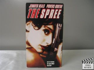 The Spree VHS Jennifer Beals Powers Boothe 651021100202