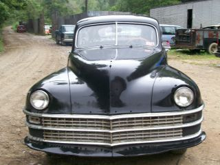 Complete 1948 Suicide Door Chrysler Royal Parts or Project