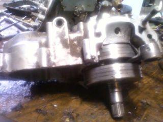 2002 02 Kawasaki KX250 KX 250 Engine Motor Crank Case with crank