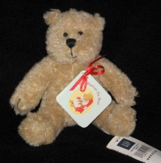 Tan Baby Gap Logo Brannan The Teddy Bear Small Lovey Lovie Plush Toy 6