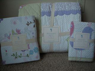 POTTERY BARN KIDS Brannan Twin Quilt Sheets Sham 5 pc Set NEW