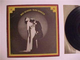 CLASSIC ROCK MUSIC RECORD ALBUMS ~BOZ SCAGGS~ VINTAGE VINYL LP RECORD