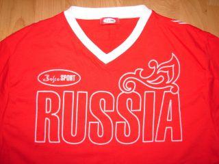 Bosco 2010 Olympics Russia Russian Team T Shirt XL