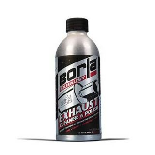 Borla 21461 Cleaner and Polish Stainless Steel Exhaust 8 oz Each