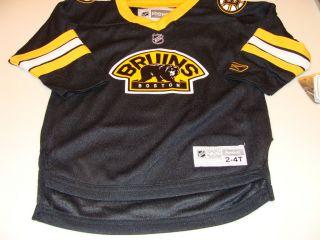 2011 12 Boston Bruins NHL 3rd Alternate Jersey Child Kids 2 4T Reebok