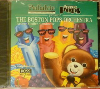 THE BOSTON POPS ORCHESTRA ARTHUR FIEDLER CONDUCTOR MUSIC CD RARE