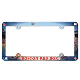 BOSTON RED SOX ~ NCAA License Plate Frame Cover Holder Plastic ~ New