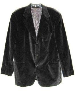 Hugo Boss Black Velvet Jacket Einstein Made in Italy M