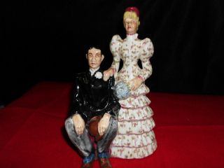 Brayton Laguna Pottery Bride Groom Figurine Great Shape