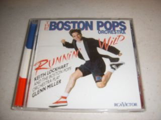 The Boston Pops Orchestra Running Wild CD
