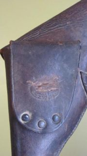 William Read Son Boston Revolver Holster for Colt Pistol