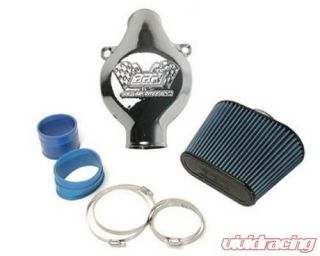 BBK Polished Aluminum Cold Air Intake System Cast Aluminum Inlet C5
