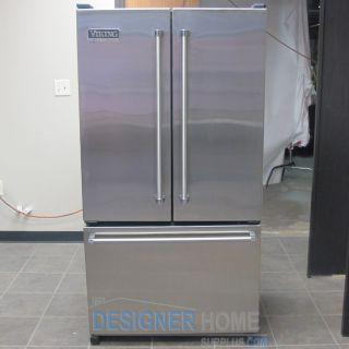 Viking VCFF036SS 36 French Door Refrigerator Freezer
