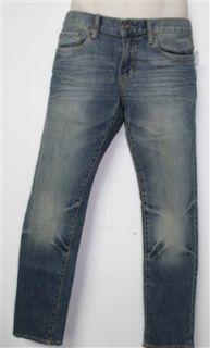 Aeropostale New Mens Bowery Slim Straight Jeans Sz 27x28 Ret $54 50g