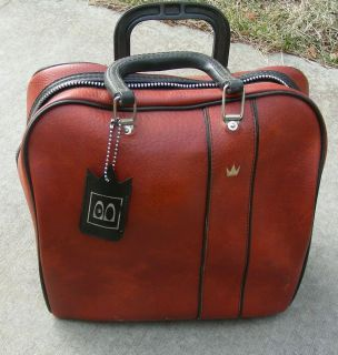 Nice Vtg Brunswick Bowling Ball Bag