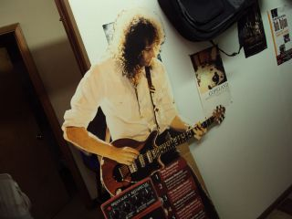 Brian May Store Display Stand Up Life Size