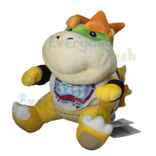 Nintendo Super Mario Bros 7 Bowser Jr Plush Doll Figure Toy