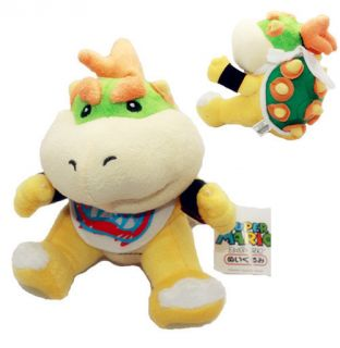 Bowser Jr Junior Koopa Super Mario Bros Brothers Cute Plush Doll Soft