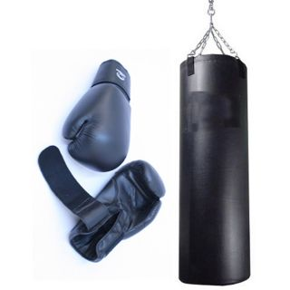 Heavy Duty Boxing Heavy Bag Punching Bag with 16 ounce Pro Boxing