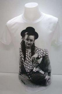 Boy George Culture Club 80s New Wave Rock T Shirt S