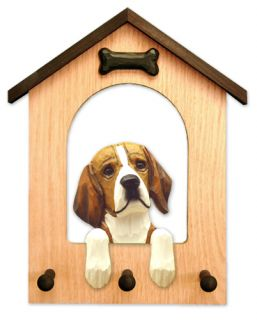 Leash Holder in Home Wall Decor Wood Products Dog Breed Gifts