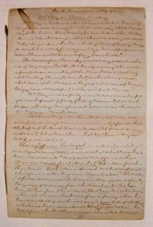 William Jay Document Signed   Clay on Slave Breeding African American