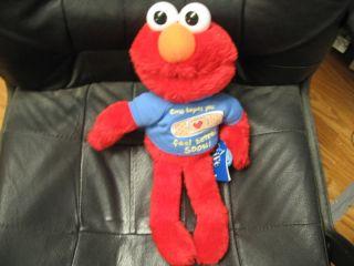 15 Plush Elmo Hopes You Feel Better Soon Doll w Tags