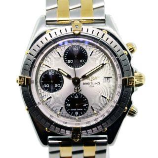 Breitling Windrider Chronomat B13048 Two Tone Chronograph Watch