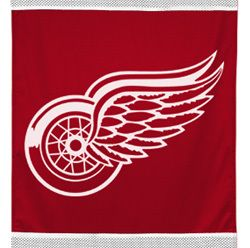 Big Detroit Red Wings Hockey Boys Wall Hanging Decor