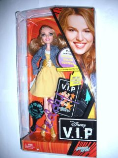 Teddy Duncan Bridgit Mendler Doll Disney V.I.P. Toy Good Luck Charlie