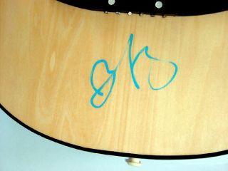 Brad Paisley Autographed Signed Acoustic Guitar &Video Proof PSA UACC
