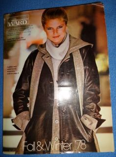 Vintage Catalog Montgomery Ward Christie Brinkley Children Kids