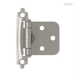 Cabinet Hinges Self Closing Overlay Value Pack 10 PC Brainerd